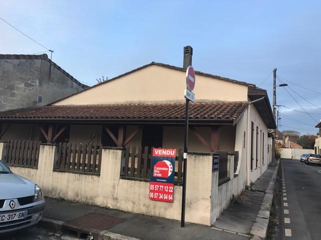 Maison r nover bordeaux bastide agence immobili re for Maison bordeaux bastide