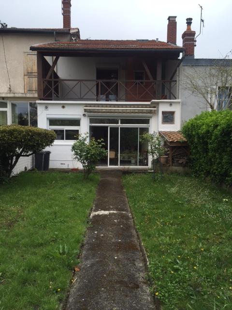 A vendre maison pierre bastide agence immobili re bordeaux bastide expansion rive droite - Maison jardin public bordeaux vendre tours ...